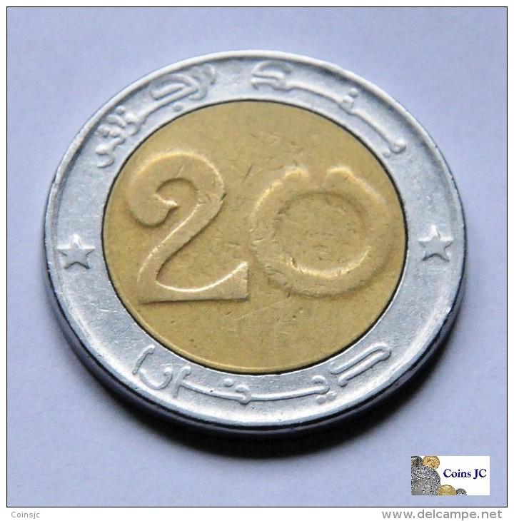 Argelia - 20 Dinars - 1999 - Algerien
