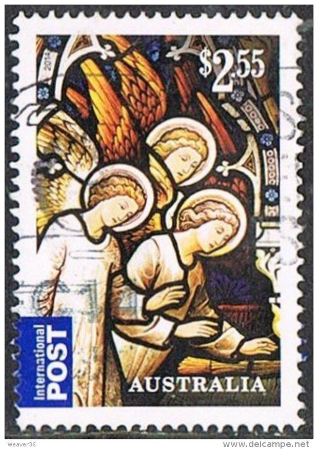 Australia 2014 Christmas $2.55 Sheet Stamp Good/fine Used - Used Stamps