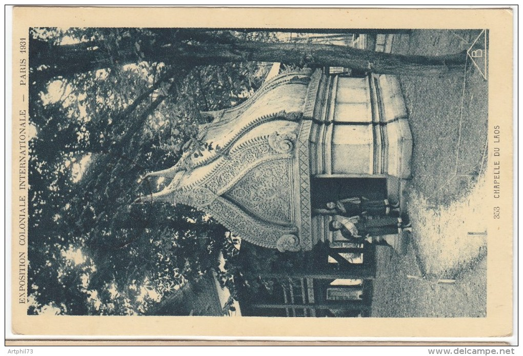 84341 - CP EXPOSITION COLONIALE INTERNATIONALE PARIS  6 X 1931 TB - Poststempel (Briefe)