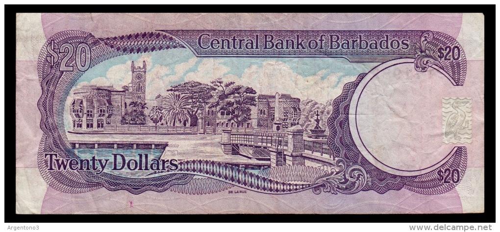 Barbados 20 Dollars 1993 P.44 F - Barbados