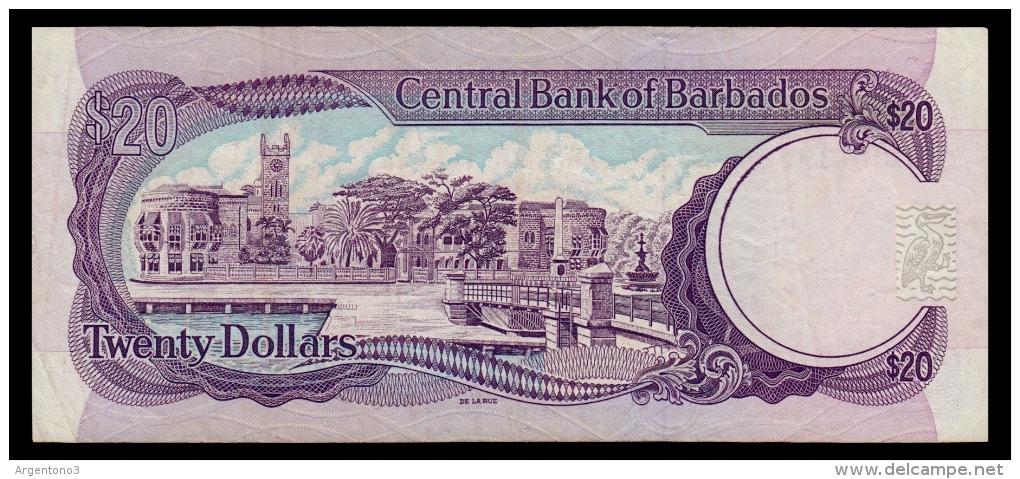 Barbados 20 Dollars 1993 P.44 F+ - Barbados