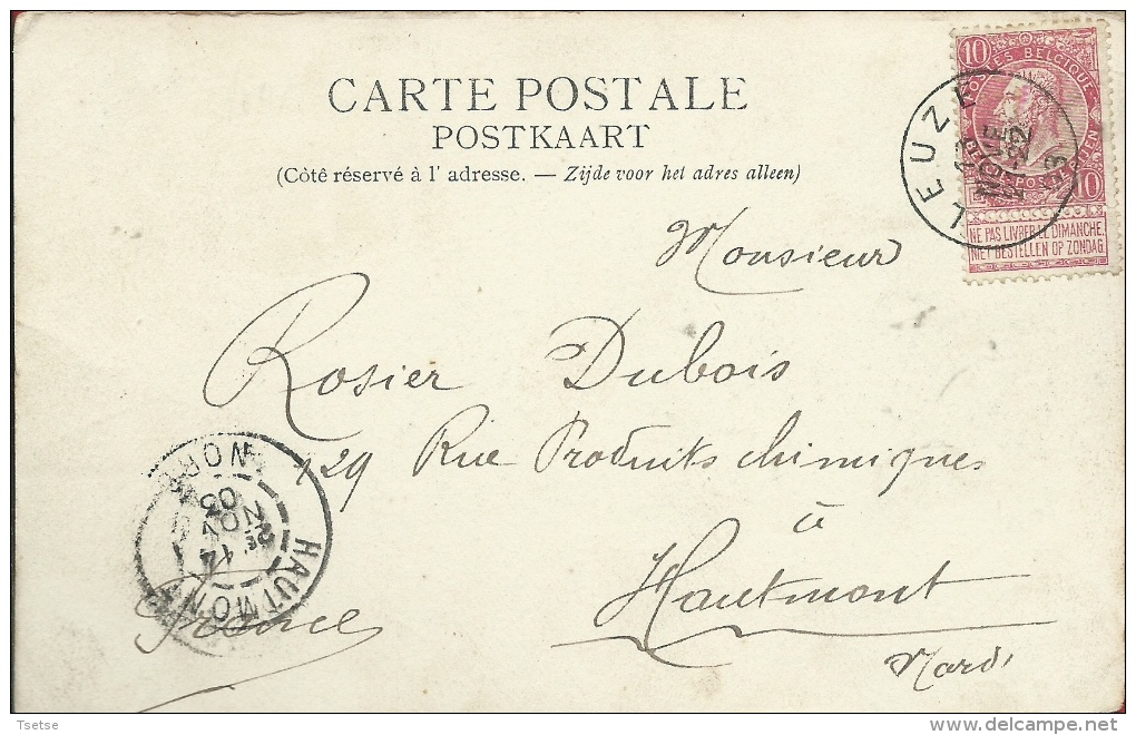 Frasnes-lez-Buissenal - Le Château De Moustier - 1903 ( Voir Verso ) - Frasnes-lez-Anvaing