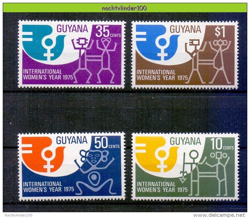 Mwk062 INTERNATIONAAL JAAR VAN DE VROUW INTERNATIONAL WOMEN'S YEAR 1975 GUYANA 1975 PF/MNH - Guyana (1966-...)