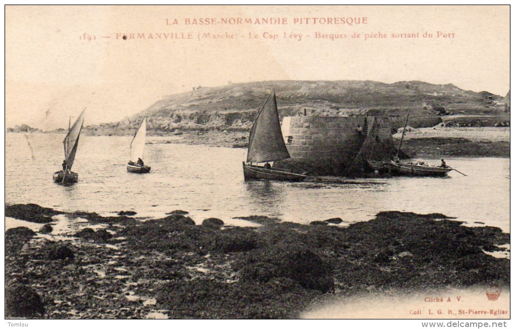 FERMANVILLE    Le Cap Lévy 1919 - France