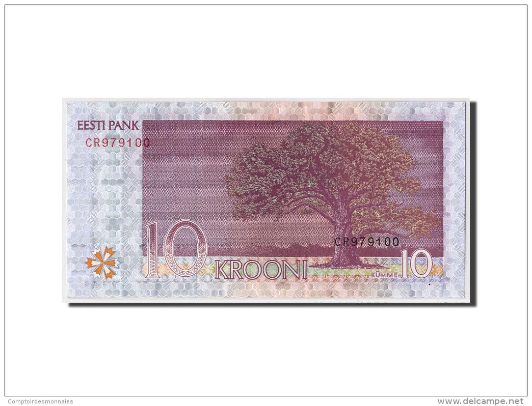 Estonia, 10 Krooni, 2007, KM:86b, Non Daté, NEUF - Estonia