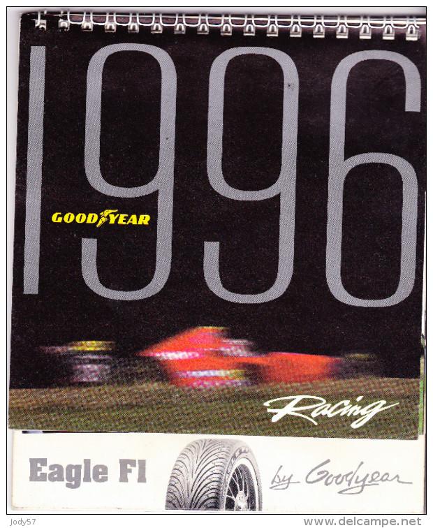CALENDARIO 1996 - GOOD YEAR RACING F1 - Calendari