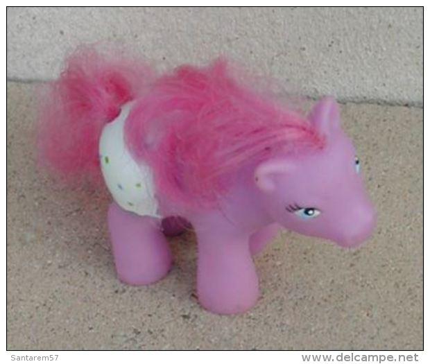 Figurine Cheval Poney Rose - Chevaux