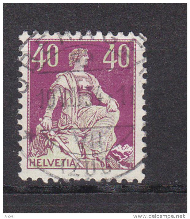 1933  N°  176z  OBLITERATION - CENTRALE   CATALOGUE ZUMSTEIN - Suisse