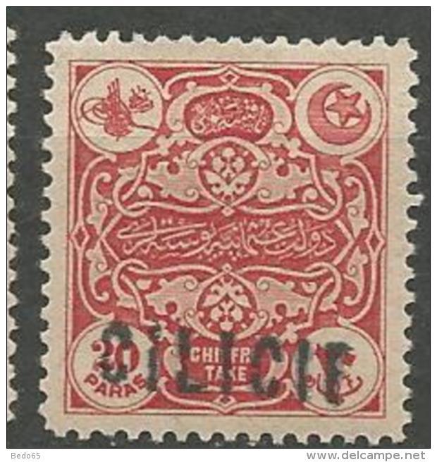 CILICIE  TAXE N°  2 VARIETEE CILICIF AULIEU DE CILICIE NEUF*   CHARNIERE /  MH / - Cilicia (1919-1921)