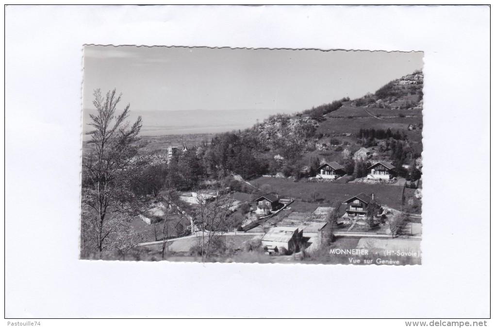 MONNETIER  -  (Hte-Savoie)  -  Vue  Sur  Genève - Autres Communes