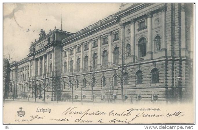 Postcard RA006342 - Germany (Deutschland) Leipzig (Leipsick / Lipsia) - Alemania