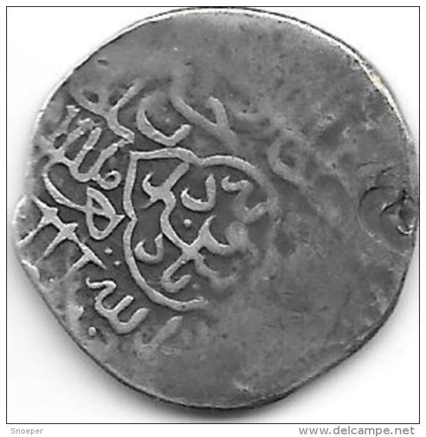 *afghanistan Husain Bakaris  Rupee    AH873-913 - Afghanistan