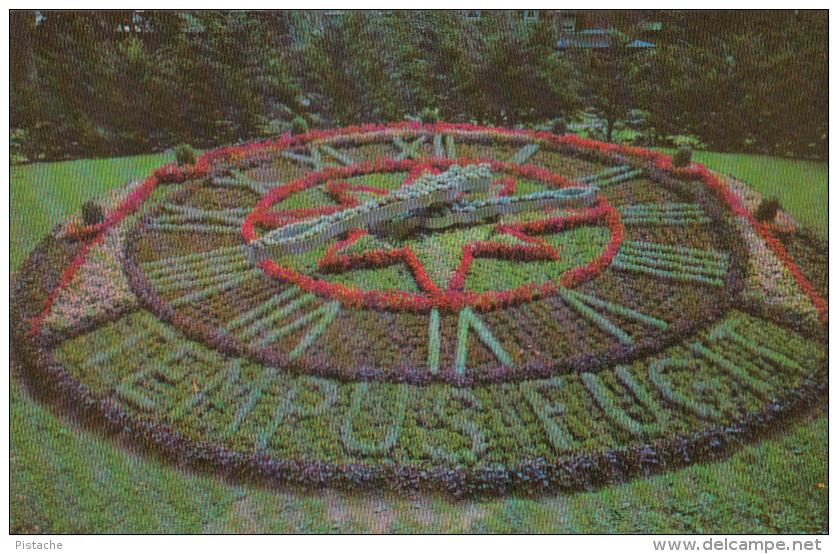 Montréal Québec Canada - 1965-1967 - Westmount Floral Clock - Horloge Florale - 2 Scans - Unclassified