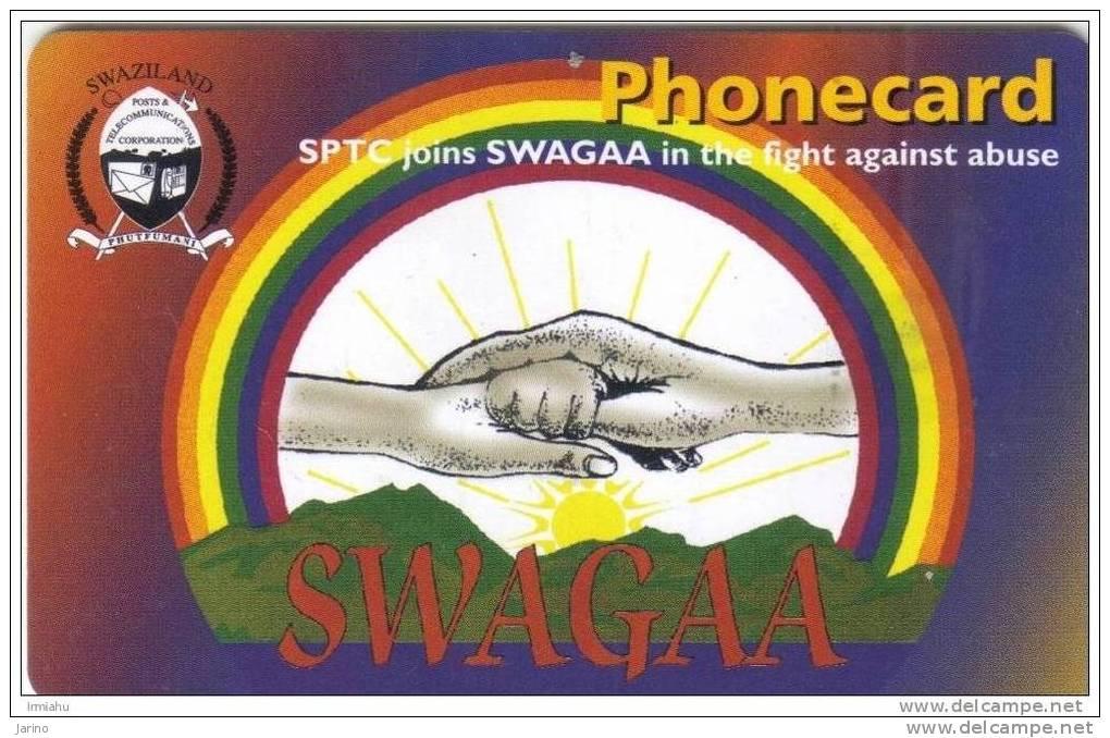 Swaziland, Chip, Expiry Date 31.03.2002 - Swaziland