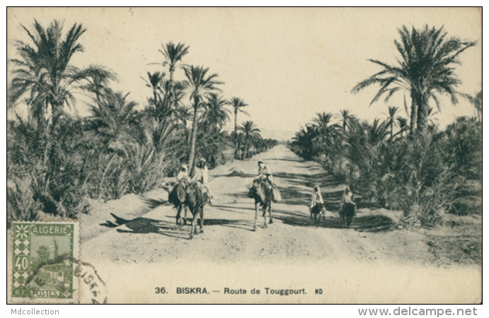 DZ BISKRA / Route De Touggourt / - Biskra
