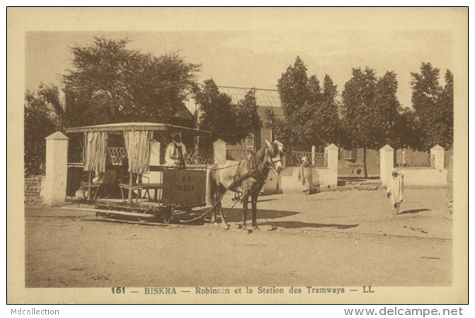 DZ BISKRA / Robinson Et La Station Des Tramways / - Biskra