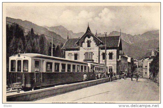 RECOARO TERME - Stazione Tramvia  Elettrica - - Vicenza