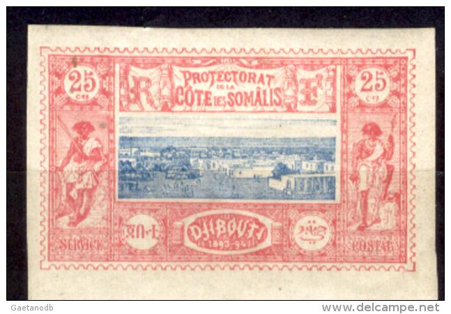 Costa-dei-Somali-00021 - 1894: Y&T N. 12 (+) LH, Privo Di Difetti Occulti.- - Costa Francesa De Somalia (1894-1967)