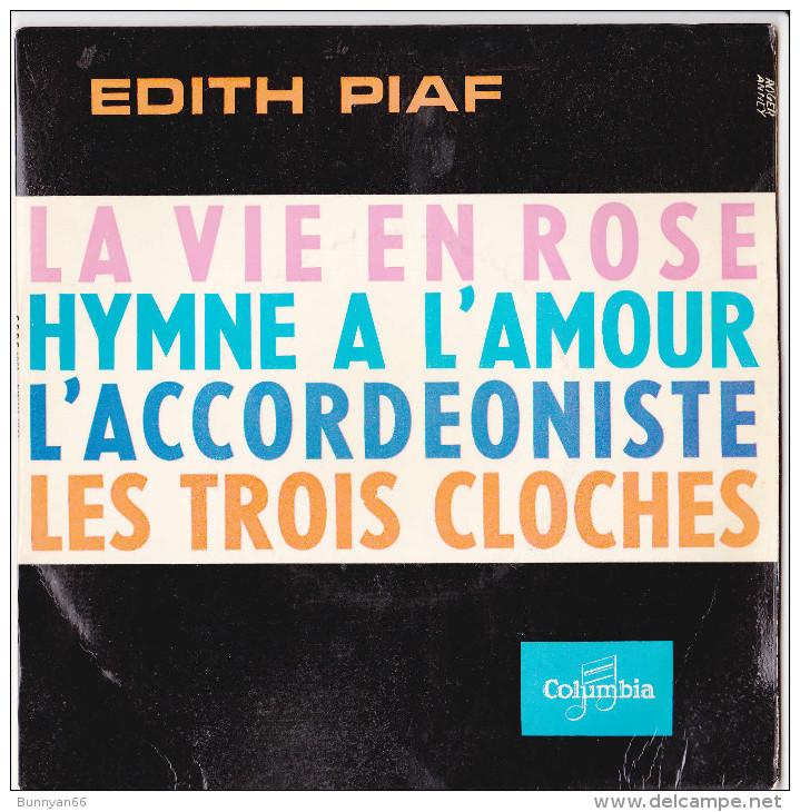 PIAF VIE EN ROSE HYMNE A L AMOUR ACCORDEONISTE TROIS CLOCHES COMPAGNONS CHANSON - 45 T - Maxi-Single