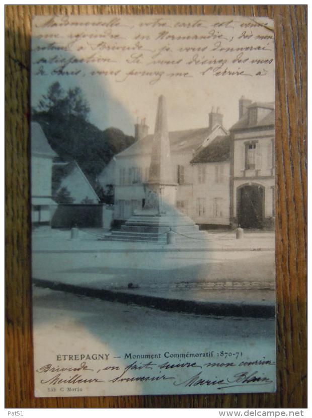 27 - Etrepagny : Monument Commémoratif - France