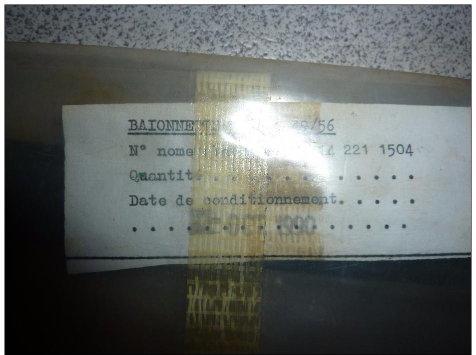 Baionnette Française  FSA  49/56  Dans Le Sachet, Bayonet FSA - Knives/Swords