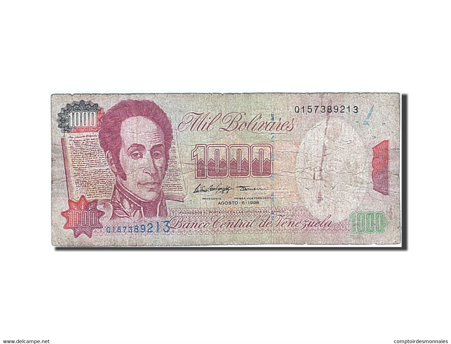 Venezuela, 1000 Bolivares, 1994, KM:76d, 1998-08-06, TB - Venezuela