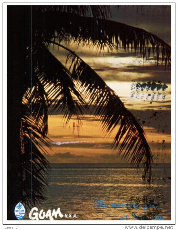 (525) USA - Guam Territory Sunset - Guam