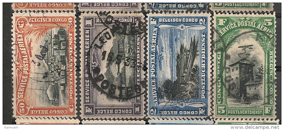 BELGISCH CONGO BELGE PA1/4 Obl Gest Used - Belgian Congo