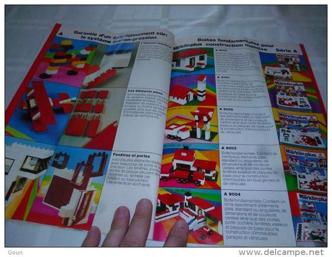 CB11 Catalogue Modélisme Marklin Plus 1974 - Autocircuits