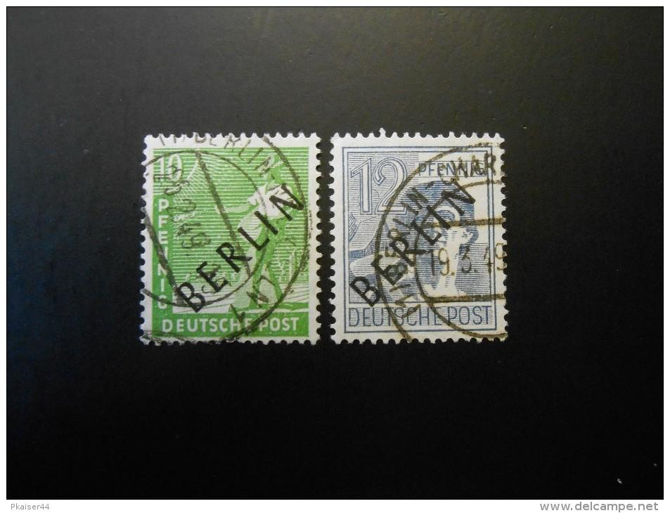 Berlin (West)  Mi3  8Pf -  Freimarken 1948 - MI € 3,60 - Used Stamps
