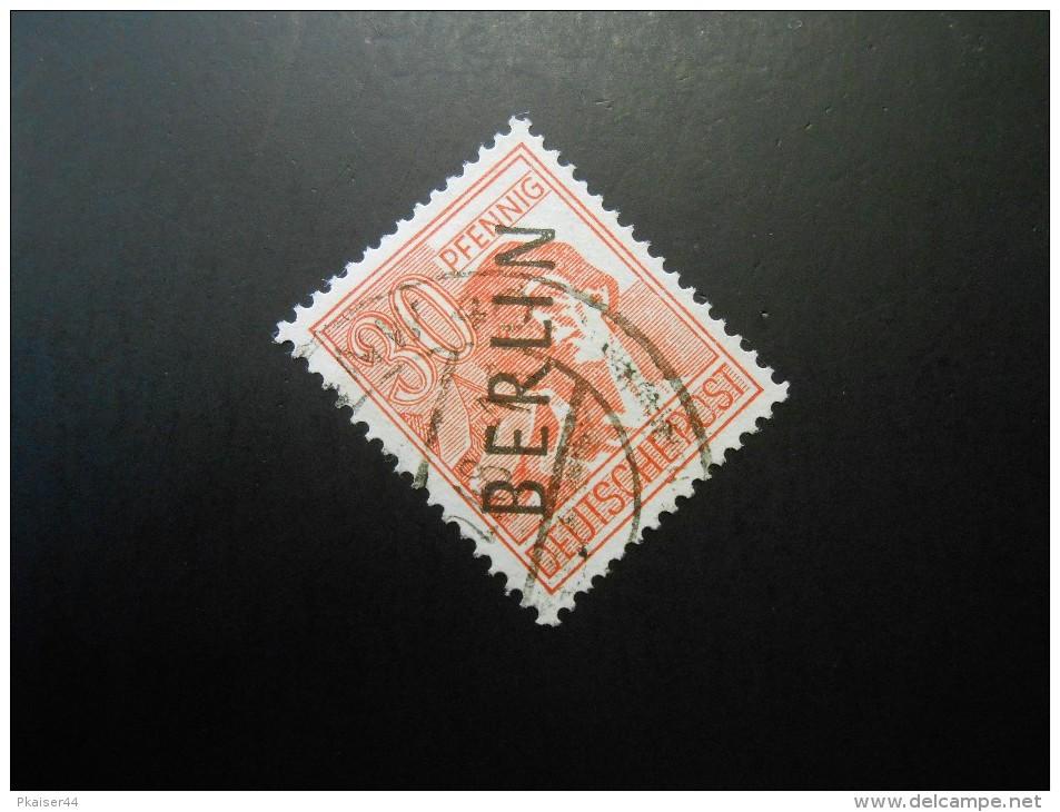 Berlin (West)  Mi11 - 30Pf -  Freimarken 1948 - MI € 10,00 - Used Stamps