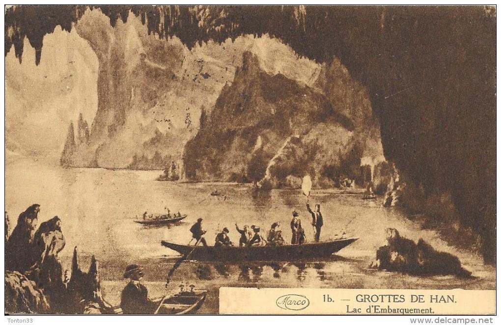 BELGIQUE -  Les Grottes De HAN - Lac D'Embarquement - Edit Marcoviei - ENCH1202 - - Belgium