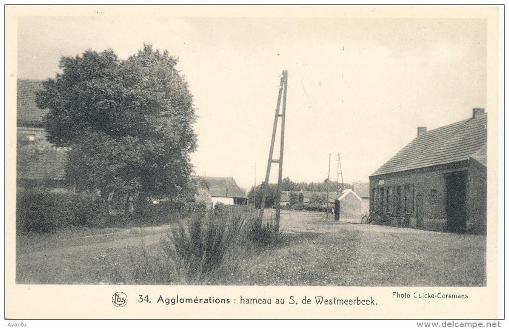 WESTMEERBEEK / HULSHOUT / ANTWERPEN / GEHUCHT WESTMEERBEEK - Hulshout