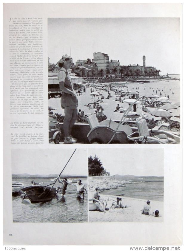 FRANCE ILLUSTRATION N° 100 / 30-08-1947 DOMINION WITEHAVEN FORCALQUIER BRIANÇON WOOMERA SAINT-RAPHAEL MOISSONNEUSE - Giornali