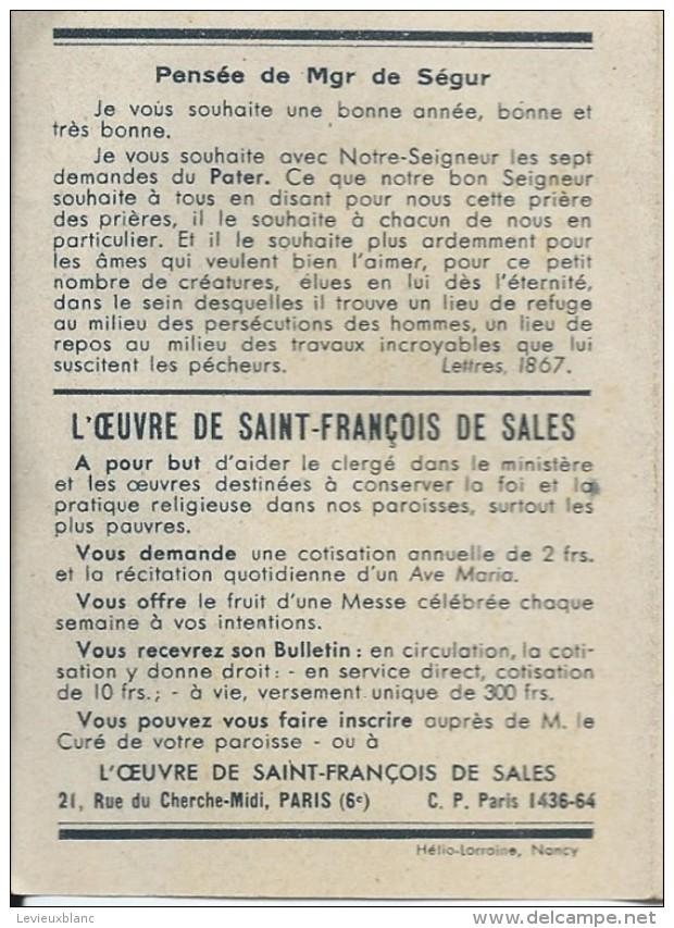 Petit Calendrier De Poche/Religieux/La Vierge Marie/ Oeuvre De Saint François De Sales/1946   CAL317 - Calendriers