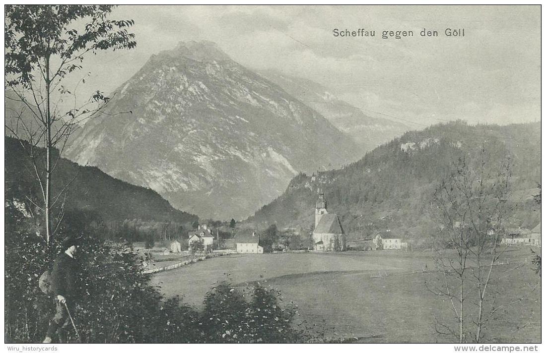 AK 0395  Scheffau Gegen Den Göll - Verlag Jurischek Um 1920-30 - Österreich