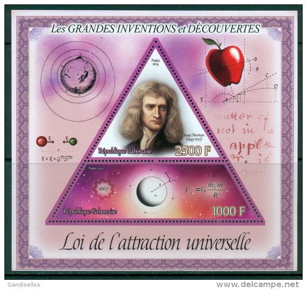 14 SHEETS COLLECTION GRANDES INVENTIONS DECOUVERTES INVENTORS EINSTEIN NEWTON GALILEO FLEMING WRIGTH PLANCK BENZ - Persönlichkeiten