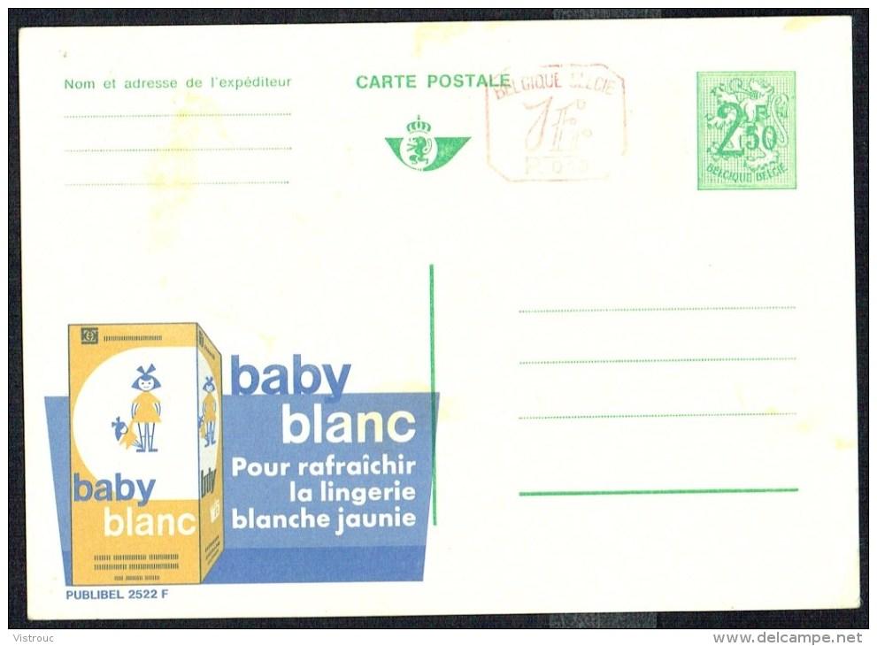 """CP Public. N° 2522-P010  """" BABY BLANC, Pour Rafraîchir La Lingerie  """" - NON Circulé / Not Used. - Entiers Postaux"""