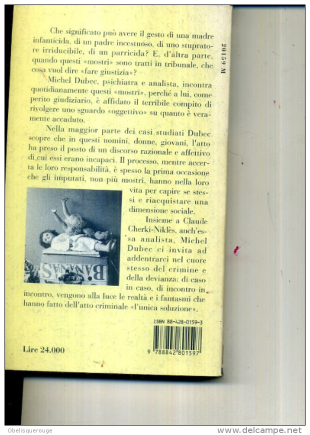 CRIMINI E SENTIMENTI CLAUDE CHERKI NIKLES MICHEL DUBEC 1992 - Livres, BD, Revues