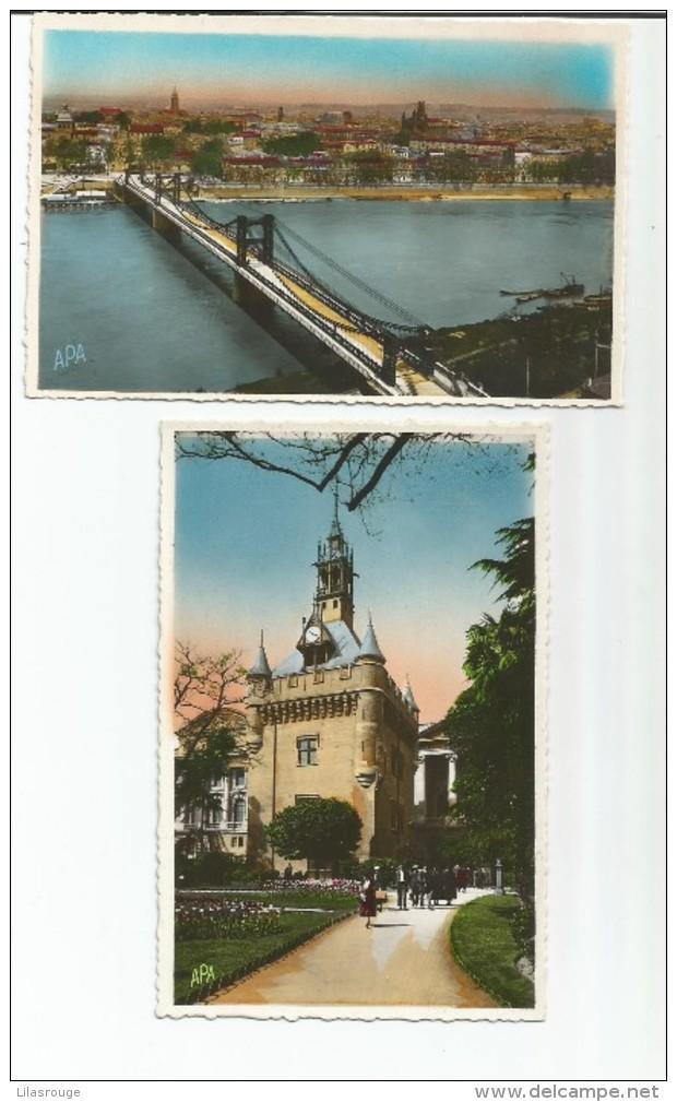 LOT 5 CARTES  TOULOUSE - Postcards