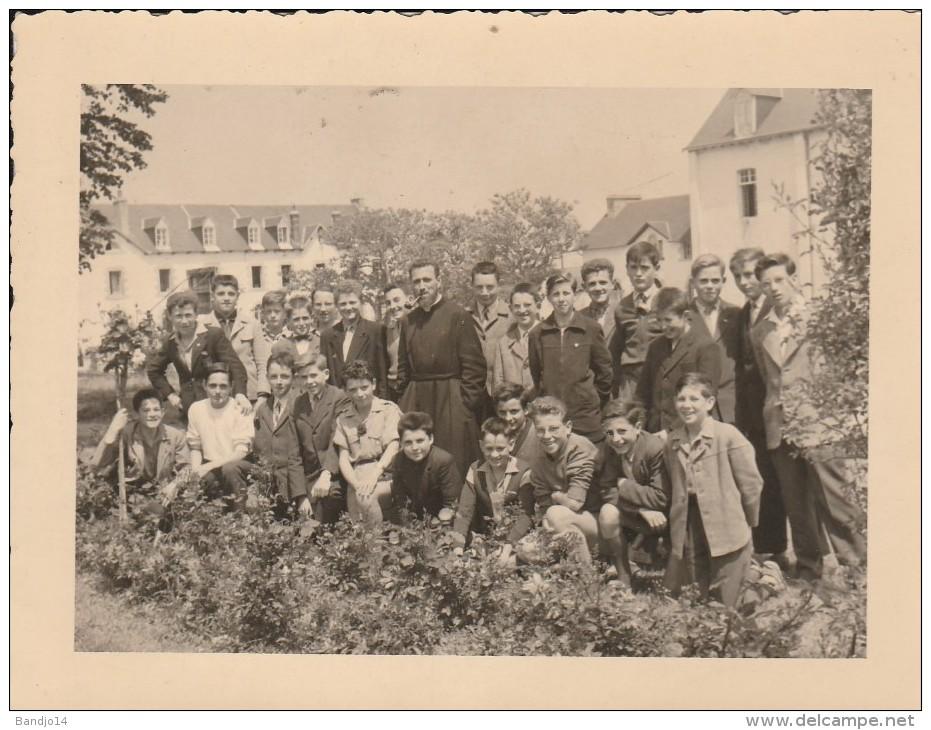 Photo - Saint Ilan  (22) - Ecole D'horticulture 1957 1958   - Format 11,5 X 9 Cm - Scan Recto-verso - Otros