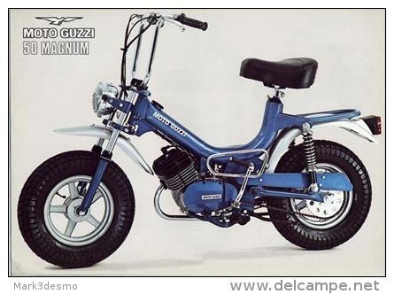 Moto Guzzi 50 Magnum 1975  Depliant Originale Genuine Brochure Prospekt - Motoren