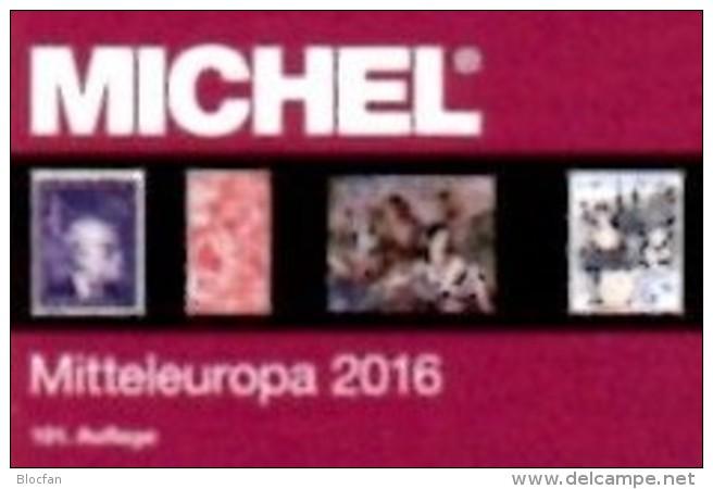 Mitteleuropa Europa Band 1 MICHEL 2016 Neu 68€ Katalog Austria Schweiz UN Genf Wien CZ CSR Ungarn Liechtenstein Slowakei - Alte Papiere