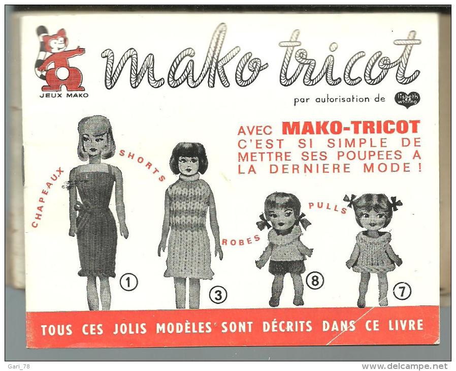 Notice Utilisation  MAKO TRICOT Avec Modèles - Laine