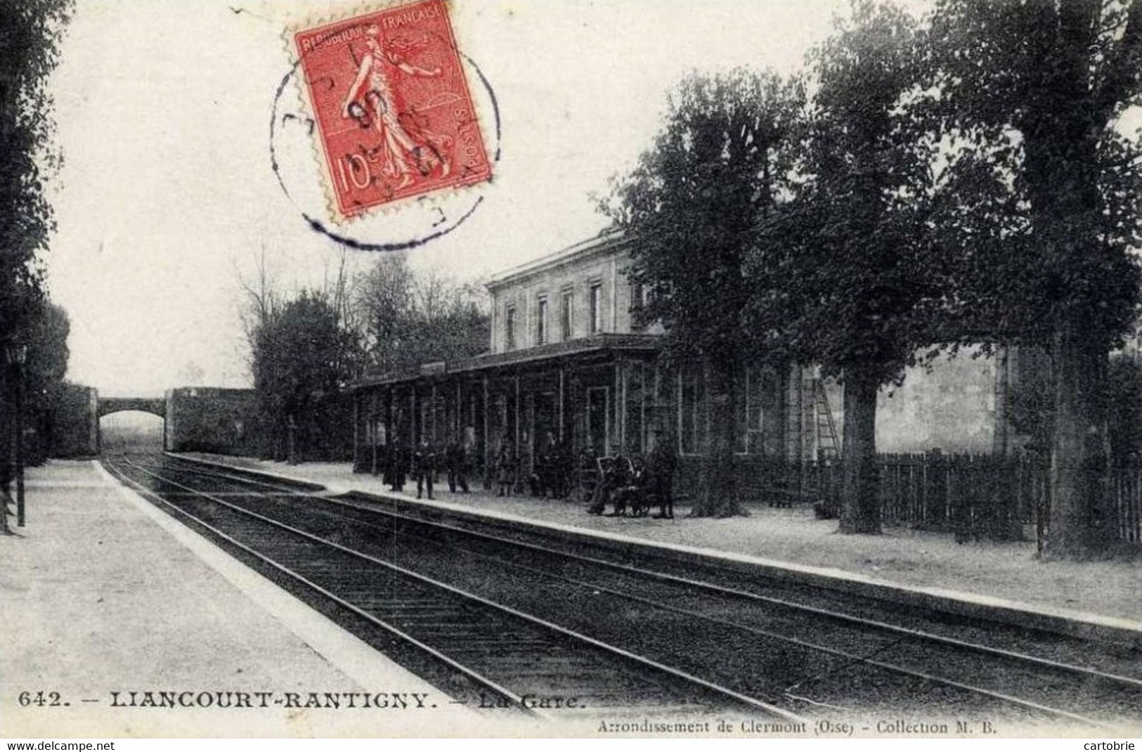 60 LIANCOURT-RANTIGNY La Gare Animée - Liancourt