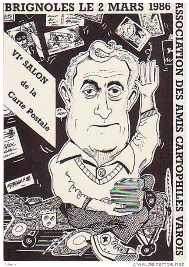 Cartophilie        H6        Brignoles. VIème Salon ( Illustrateur  G.Sauvan ) - Bourses & Salons De Collections