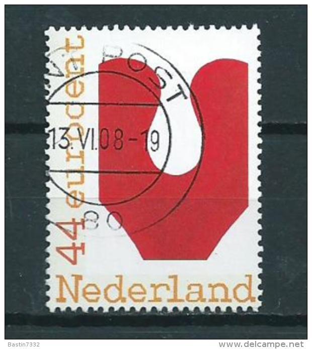 2008 Netherlands De Keuze(vijf) Van Nederland Used/gebruikt/oblitere - Periode 1980-... (Beatrix)