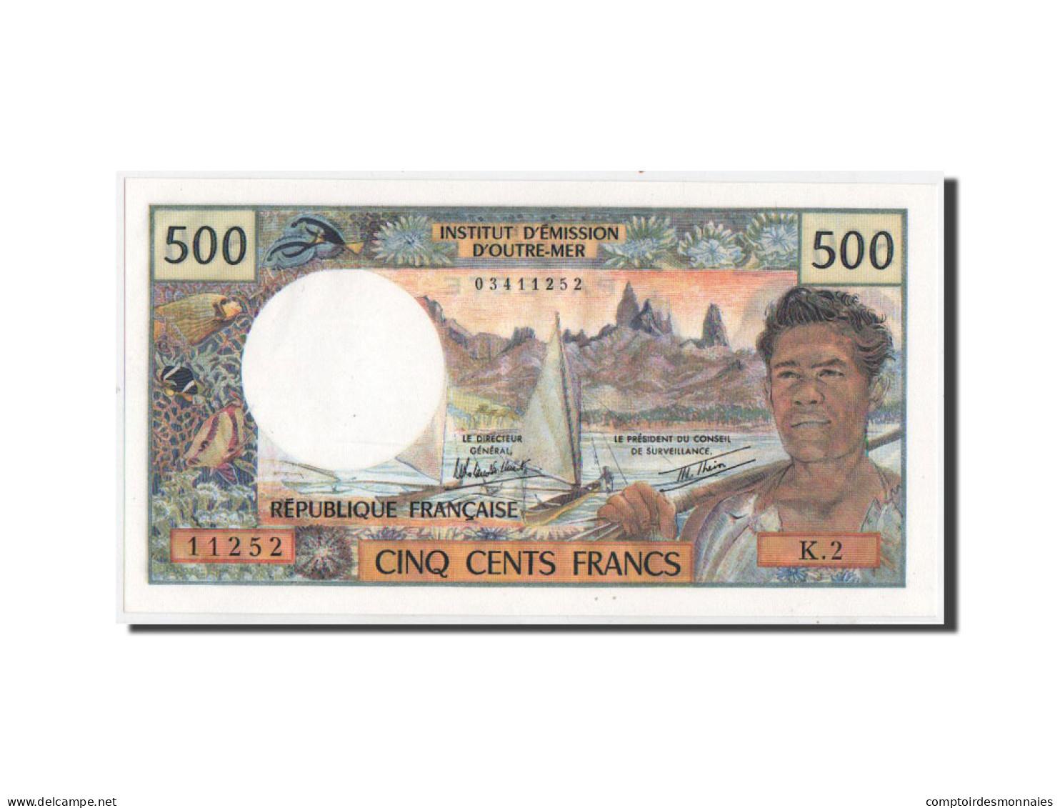Tahiti, Papeete, 500 Francs, 1982, KM:25b2, Neuf - Banknotes