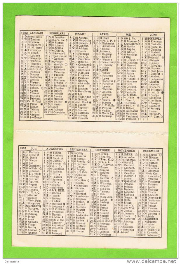 1952, Kalender De Perelk- Copyright 217 - Calendriers