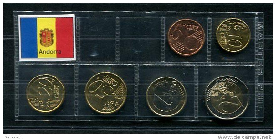 3931 - ANDORRA - EURO-Kurzsatz (5 Cent - 2 Euro) 2014. - Andorre